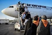 آغاز پروازهای برگشت حجاج از ۲۵ مرداد