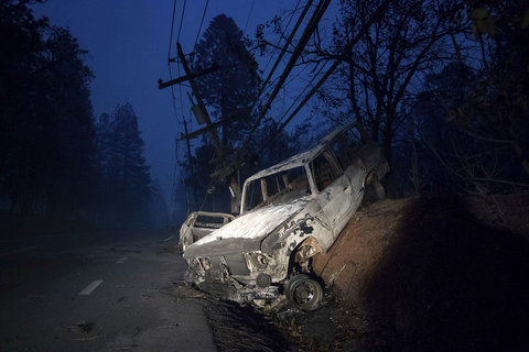 بزرگترین آتشسوزی تاریخ کالیفرنیا