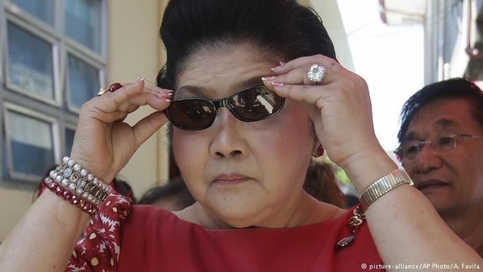 ایملدا مارکوس، بیوه دیکتاتور سابق فیلیپین