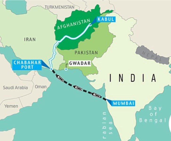 مسیر چابهار - هند