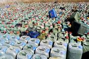 کشف ۵۴ هزار لیتر سوخت قاچاق در سقز