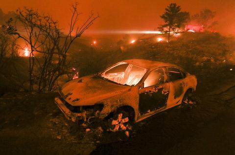 کالیفرنیا | هنوز آتش؛ هنوز باد