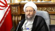 تاکید لاریجانی بر استفاده از ظرفیت مجازاتهای جایگزین حبس