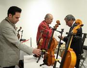 سازهایی که با یاد خسرو آواز ایران به نمایش درآمدند