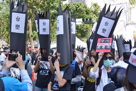 تایوانیها به خاطر آلودگی هوا تظاهرات کردند
