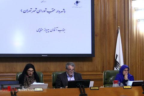 جلسه انتخابات شهردار تهران به روایت تصویر