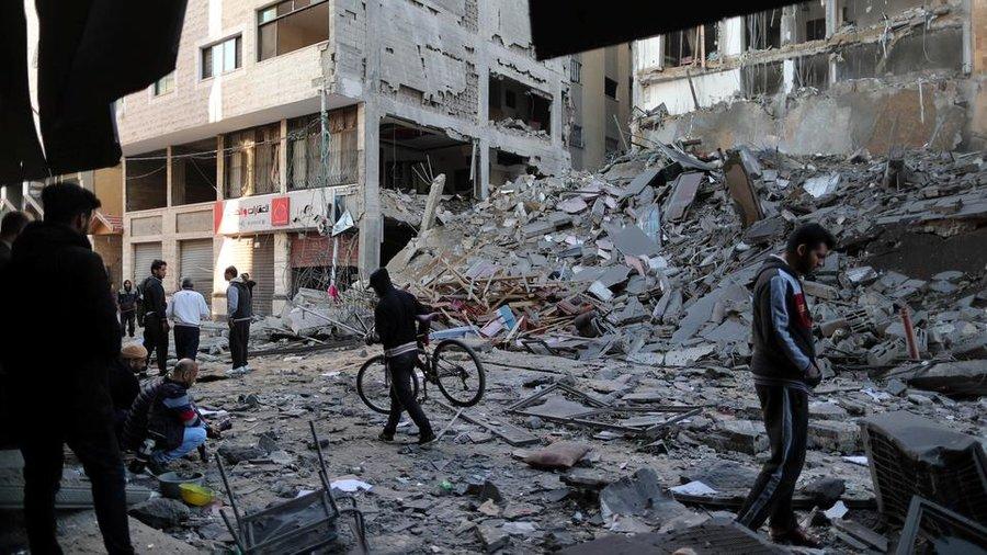 حمله رژيم صهيونيستي به نوار غزه