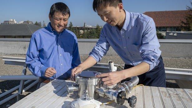 دستگاه هیبریدی ذخیره انرژی خورشیدی