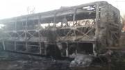 انفجار اتوبوس در زیمبابوه بیش از ۴۰ کشته برجای گذاشت
