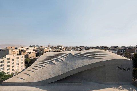 مسجد ولیعصر (عج) | نامزد جشنواره جهانی معماری