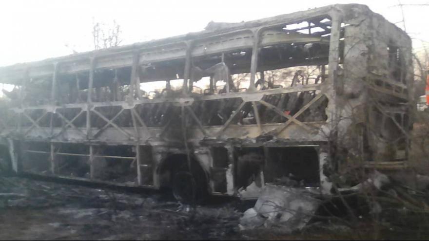 انفجار اتوبوس در زيمبابوه