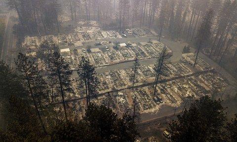 آتش سوزي كاليفرنيا