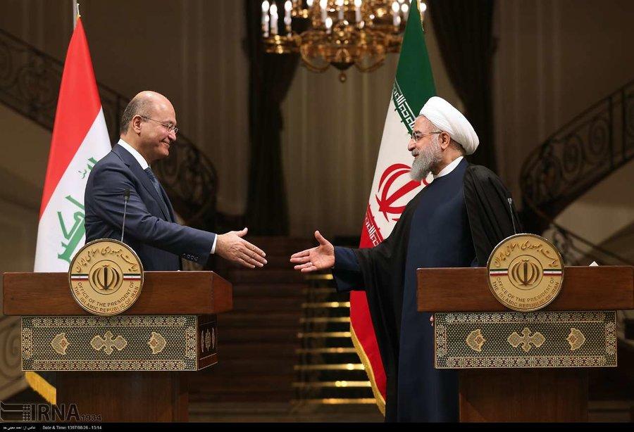 روابط ایران و عراق, روحانی, حسن روحانی, رئیس جمهور عراق