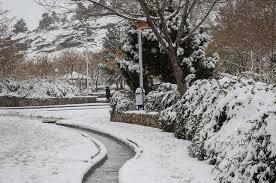 برف، تهران