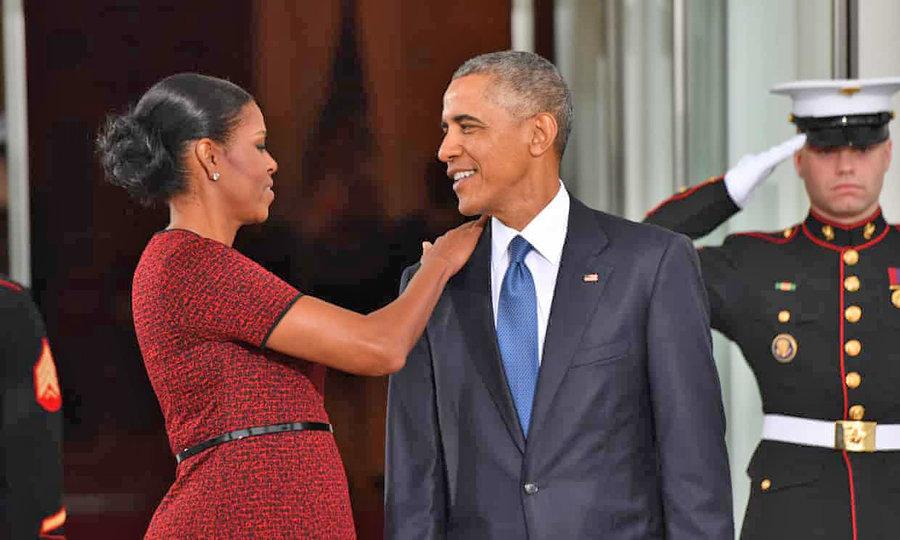 باراك و ميشل اوباما