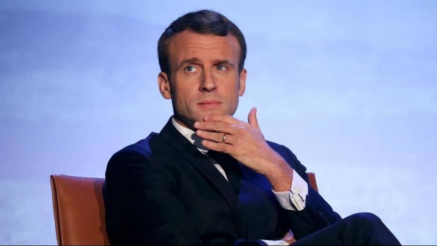 امانوئل مكرون رئيس جمهور فرانسه