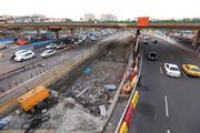 ترافیک مسیر تندرو شرقی چمران به مسیر کندرو بزرگراه منتقل میشود
