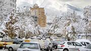 گزارش وضعیت معابر تهران در پی بارش برف | هیچ معبری مسدود نیست