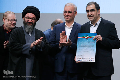 وزیر بهداشت از سید محمد هادی ایازی قدردانی کرد | تشکر سازمانها و انجمنهای مردم نهاد از ایازی