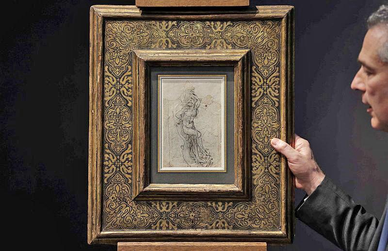 تابلوي سن سباستين لئوناردو داوينچي
