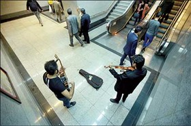 سازها برای موسیقی خیابانی ناکوک است