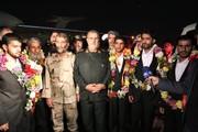 آزادی و بازگشت ۵ تن از مرزبانان ربوده شده در میرجاوه به کشور