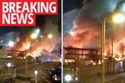 انفجار در ایستگاه اتوبوس در جنوب لندن