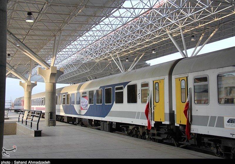 قطار قزوین - رشت به ایستگاه آخر رسید