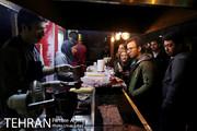 فیلم | تهران؛ استریت فود خیابان ۳۰ تیر