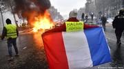 مکرون موج اعتراضات در فرانسه را شرمآور خواند