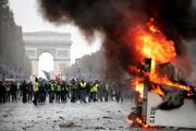 عقب نشینی دولت فرانسه در برابر جلیقه زردها | افزایش مالیات سوخت معلق شد