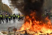 محکومیت حمله جلیقه زردها به خبرنگاران