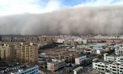 عکس روز: طوفان شن