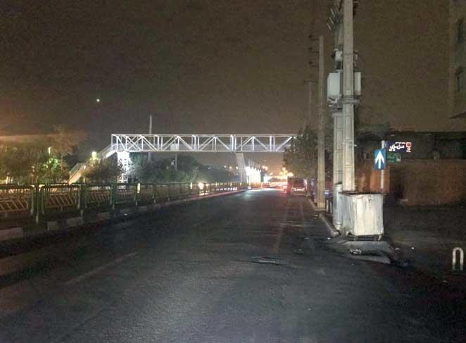 تأمین روشنایی خیابان خاوران