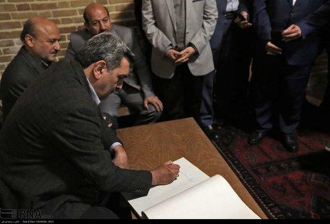 حضور شهردار تهران در مراسم گرامیداشت شهید مدرس