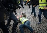 درگیری پلیس فرانسه با معترضان جلیقه زرد