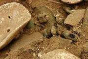 یک تابوت دوره اشکانی در محوطه تاریخی جوبجی کشف شد