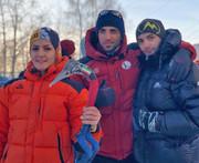 نتایج یخنوردان ایرانی در مسابقات یخنوردی در روسیه