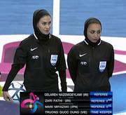 قضاوت داوران زن ایرانی در فوتسال جام ملتهای اروپا