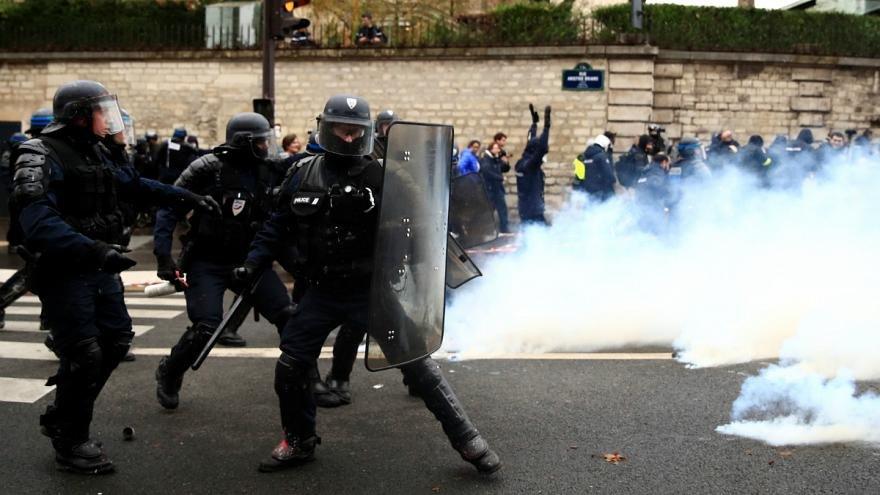اعتراض ها در فرانسه