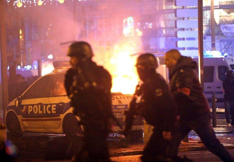 استقرار ۸ هزار پلیس در پاریس برای تظاهرات روز شنبه