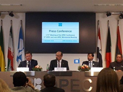 انتشار بیانیه پایانی پنجمین نشست کشورهای عضو و غیرعضو اوپک