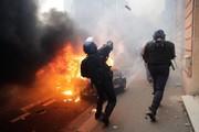 تصاویر | اعتراضات در فرانسه ؛ رویارویی پلیس با معترضان