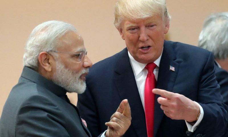 رئيس جمهور آمريكا و نخست وزير هند