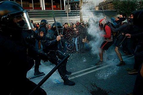 اسپانیا - تظاهرات
