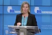 موگرینی: سازوکارمالی اروپا با ایران هفتههای آینده اجرا میشود