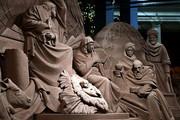 یک اثر هنری شنی | آفرینش صحنه میلاد حضرت مسیح(ع)