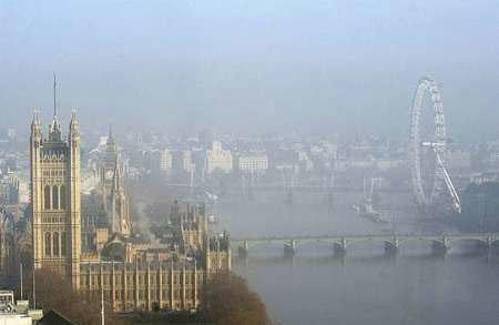 آلودگي لندن