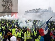 فراخوان گسترده جلیقه زردهای فرانسه برای اعتراضات بزرگ