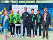 عنوان سوم تنیسورهای ایران در مسابقات زیر ۱۳ سال غرب آسیا با کسب ۹ مدال